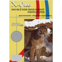Фотобумага X-GREE A4/50/300г  Глянцевая Двухсторонняя 5H300DG-А4-50