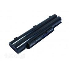 Аккумулятор для ноутбука Fujitsu BP250/ 10,8 В совместим с 11,1 В/ 5200 мАч, черный