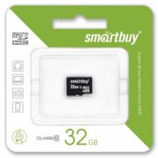 Карта памяти microSD Smartbuy 32 GB с адаптером (class 10)