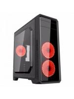 Корпус ПК без БП GameMax G561F-Red