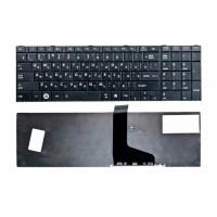 Клавиатура для ноутбука Toshiba Satellite L850, RU, черная